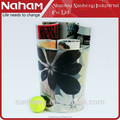 NAHAM House/Office Organizer Flowers Design Plastic Waste Bin