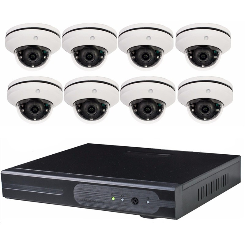 SecuriVision home 8ch Outdoor Waterproof Day Night Security Camera System 8 Channel CCTV AHD 960H DVR NVR video surveillance kit