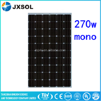 monocrystalline Grade A 270w solar panel for home solar system