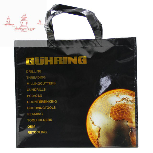 80gsm Reusable Convention Promo Tote Bags - Non Woven Reinforced Durable Giveaway Bag for Women