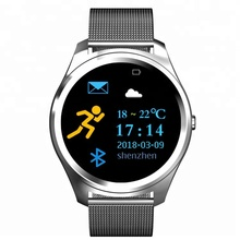 <strong>X10</strong> fashion sports voice control watch 2.5D touch screen heart rate smart band bracelet