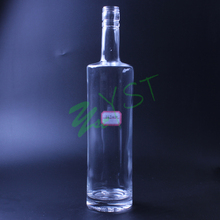 Hot sale vodka glass bottle 375ml glass bottle empty glass liquor bottle