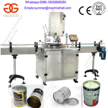 High Speed Full-automatic Cup Beer Tin Can Sealing Machine