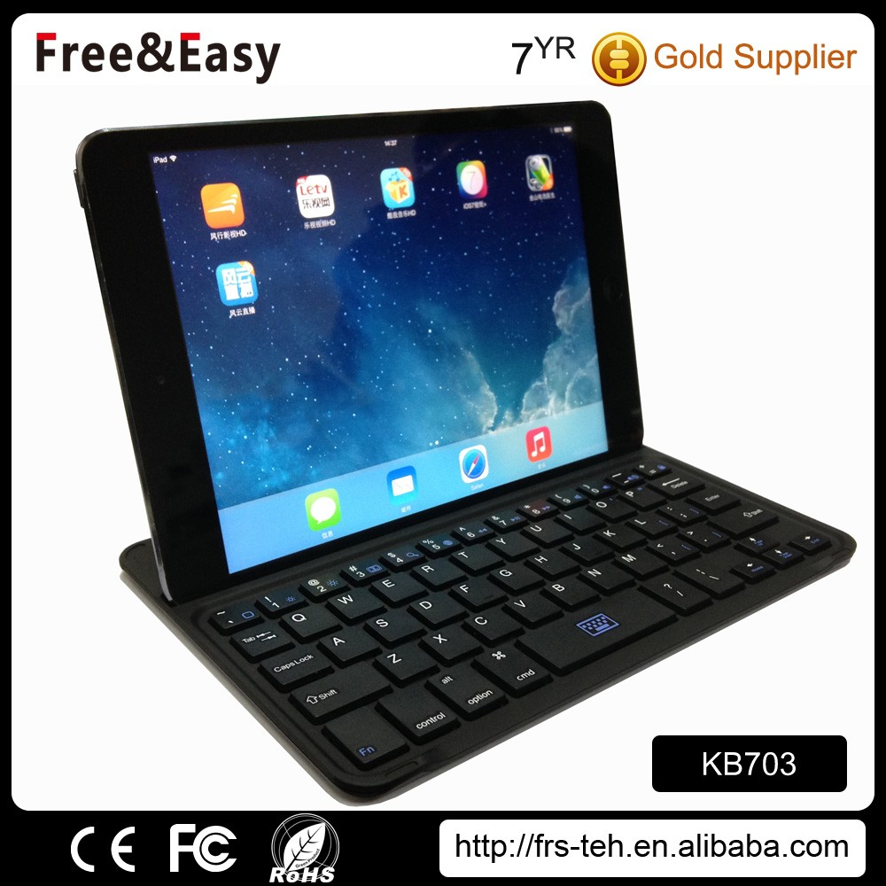 wholesale computer parts portable mini wireless bluetooth keyboard for PC laptop notebook