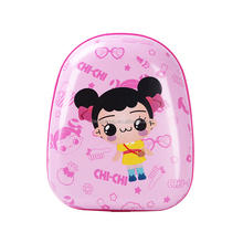 2017 Kids gift toy suitcase 14 inch pink cartoon travel bag children luggage