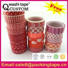 High quality famous brand washi tape manufacturer for arts and craft