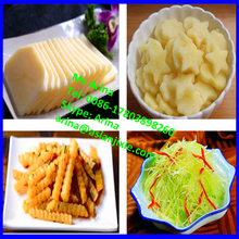 Bamboo shoots slicing machine/lemongrass cutting machine/celery dicing machine