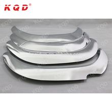 Car hilux 4x4 parts chrome plastic car wheel arch extensions universal fender flares for hilux revo accessories 2016