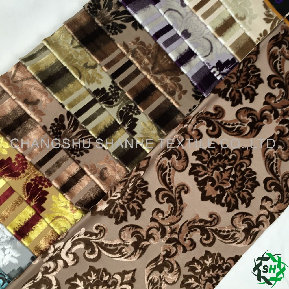 xucun printed upholstery leather car seat fabric