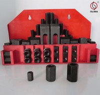 High Quality 52pcs/58pcs Steel Clamping Kit for CNC Tools,M12 Clamping Kit for CNC Machine