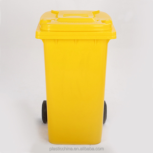 BT240B-1 240liter heavry duty two wheelie mobile garbage containers for sale