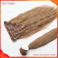 Top Quality 7A Brazilian Human Hair Wefts Wholesale Unprocessed Virgin Brazilian Cheap Straight Clip-in Human Hair Extension