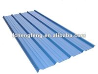 Corrugated roofing tiles for house