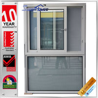 As2047 As2208 standard sound proof sliding polycarbonate window