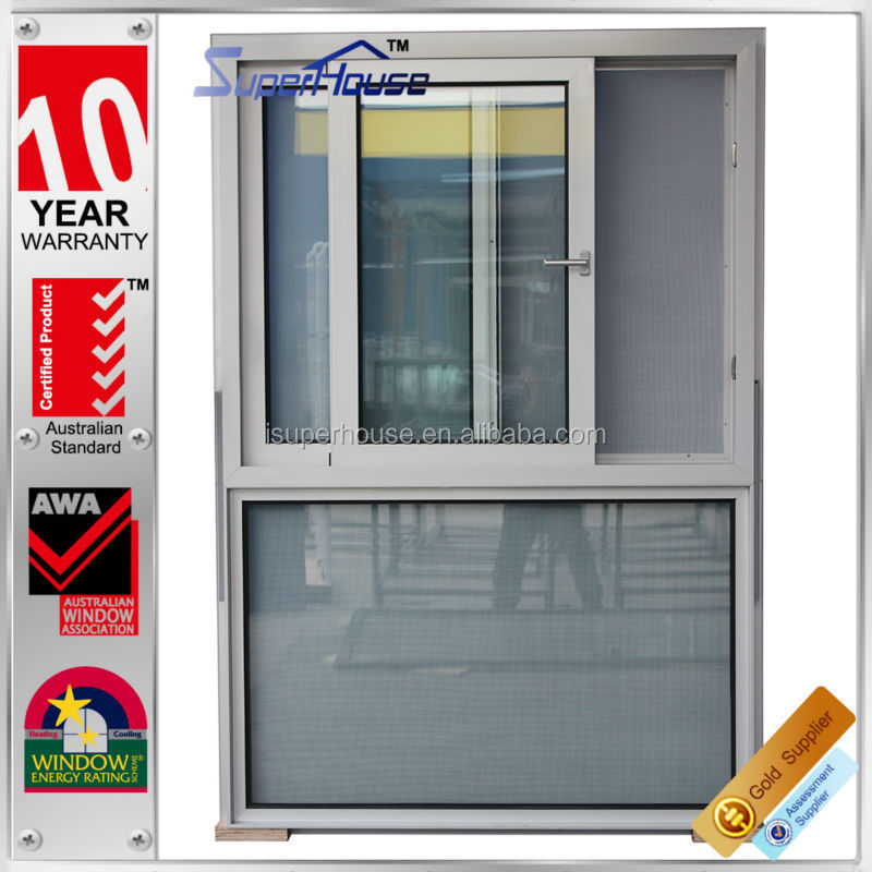 Superhouse As2047 As2208 standard sound proof sliding polycarbonate window