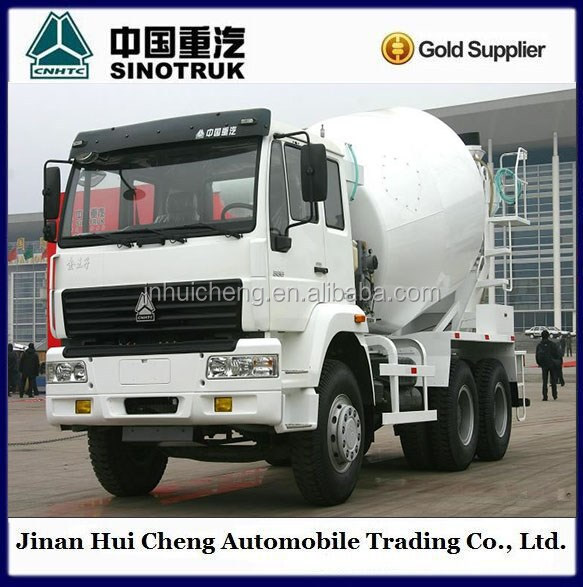 SINOTRUCK Howo 6x4 off road heavy duty concrete mixer truck for sale