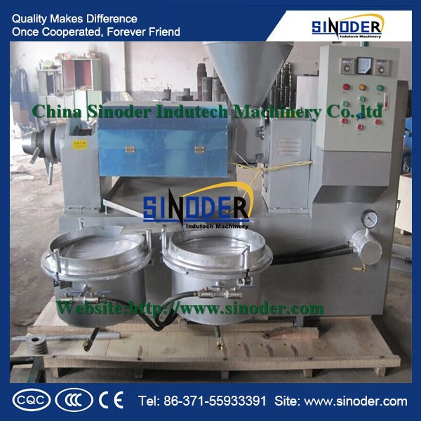 mill Oil press machine for expeller oil from Peanut,Soybean,Rapeseed, Sesame seeds, vegetable plant oil extraction machine