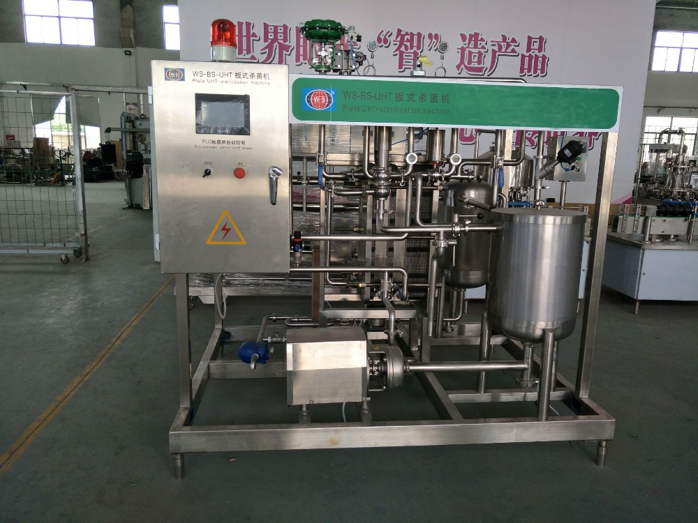 Factory Supplier!!! Fully Automatic Milk UHT Plate Sterilizing machine