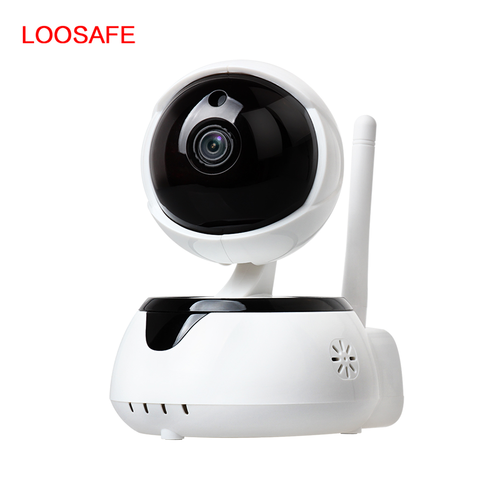LOOSAFE 720P Hd Wifi P2P IP <strong>Camera</strong> Two Way Audio