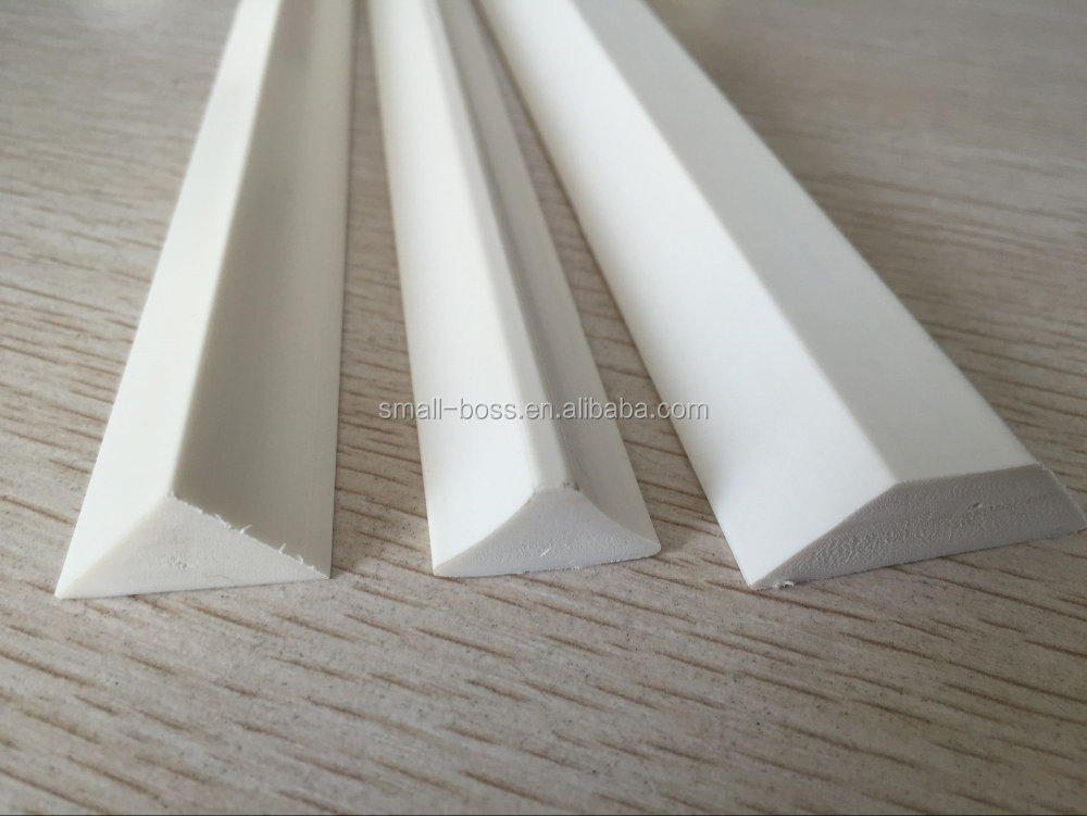 pvc chamfer strip/triangle wood strips