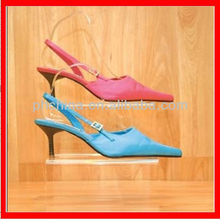 JSD-005 Simple and Elegant Acrylic Shoes Display Rack for Full-angel Display