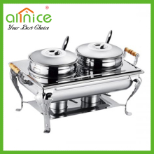 New stainless steel buffet pot/buffet stove/food warmer