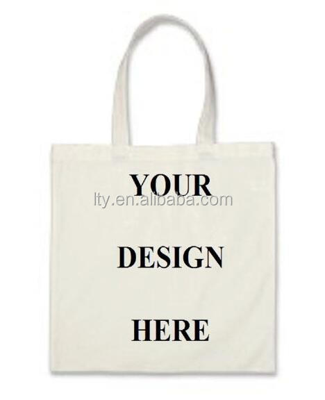standard size custom design printed cotton should tote bag