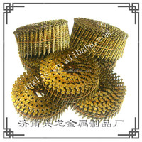 flat coil ring nail for pallets