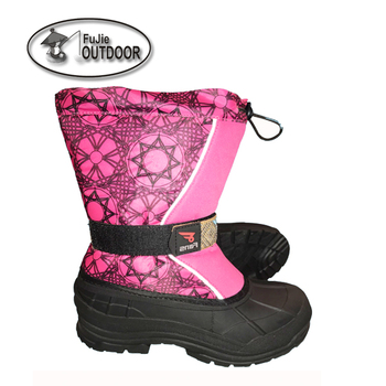 Girls waterproof seam-sealed snow boots