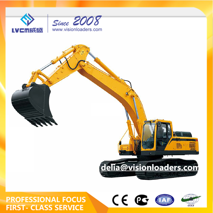 36Ton Excavator LG6360E, Heavy duty Hydraulic Mining Excavator LG6360E with Efficient Operation