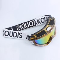 Custom good quality woven ski goggles band with sample free