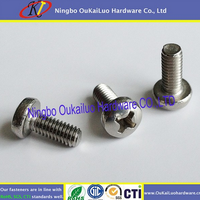 Your first choice! Delicate machine screws Small Slotted Drive Pan Head Factory Direct Selling for SS or iron