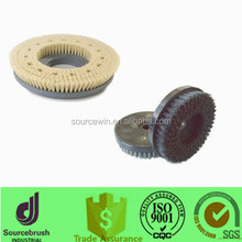 custom anti-static sisal bristle PCB board cleaning disc brush with high quality