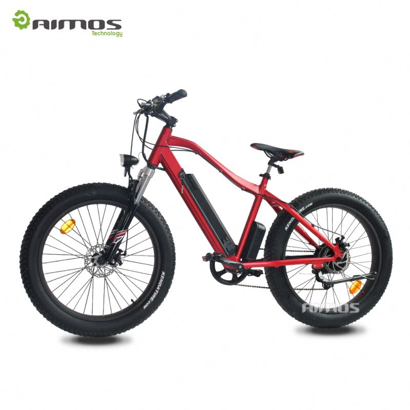 fat tire yikebike electric bicycle with 26inch wheel