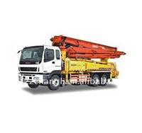 truck mounted concrete boom pump,HB37A Truck-Mounted Concrete Pump