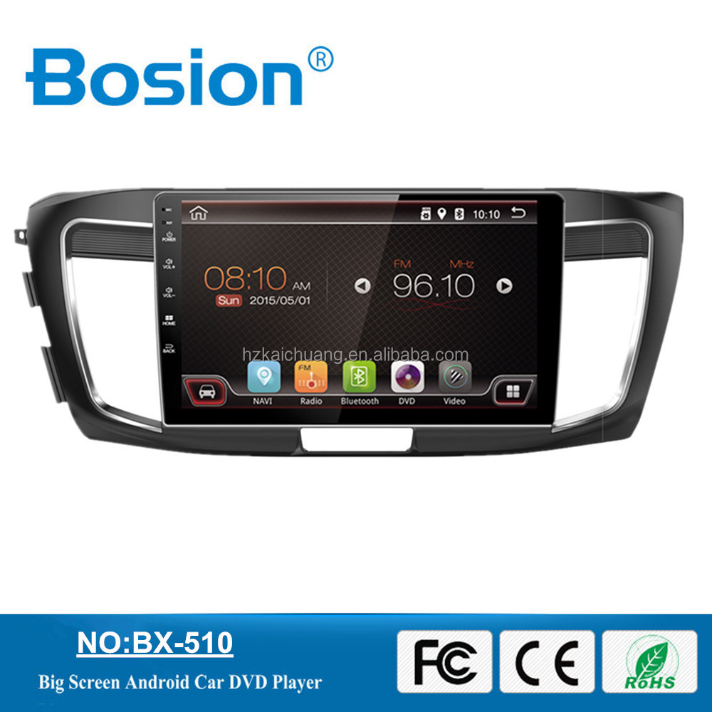Bosion New Arrived Android 10.1inch Car DVD Touch Screen GPS Navigation With Bluetooth and Wifi