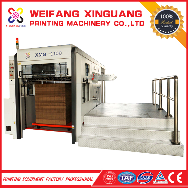 XMB-1100 The high quality manual corrugated carton hand die cutter