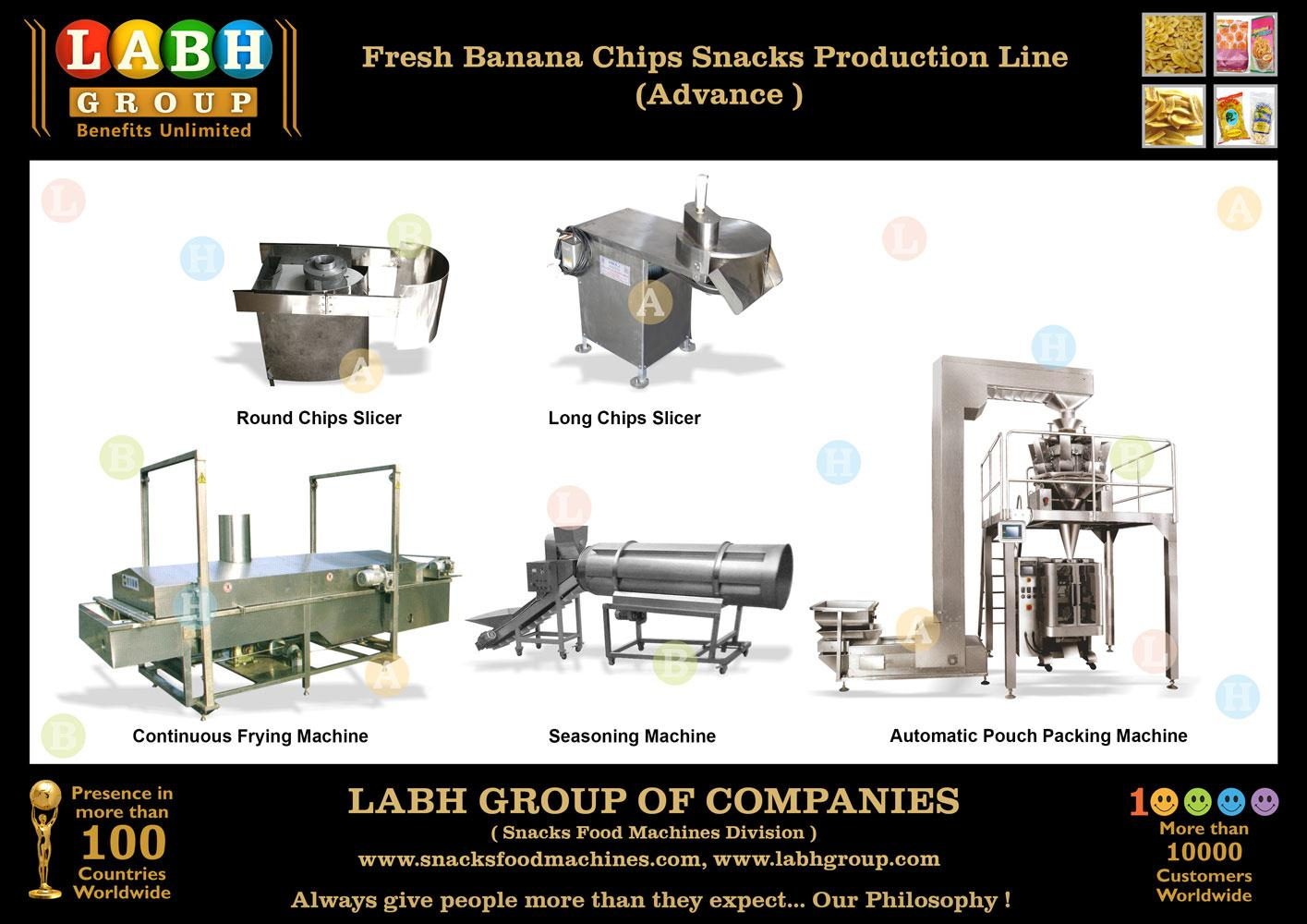 Exporting Importing of Banana Chips Production Line c51abb