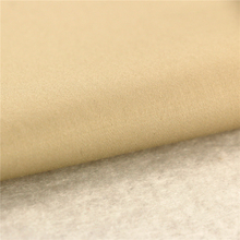 146CM 60x40+40D/245x98 160GSM beige satin sateen suit fabric 100 cotton fabric for t-shirt