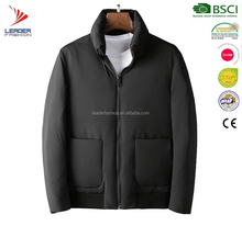 Men fashion simple winter goose down jacket and clothing