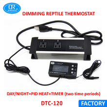 RINGDER DTC-120 230V 110V Digital Dimmable Temperature Controller Thermostat with Electronic Timer