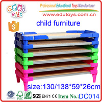 Montessori School Children Bedroom Furniture Wooden Kids Bunk Bed Wholesale Child Furniture for Promotion