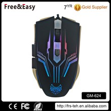 Newest ergonomic design big size USB optical game mouse