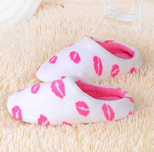 2017 newest design woman wedding slippers warm winter flip flop
