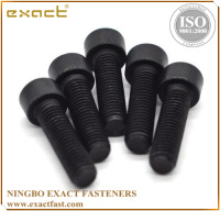 good quality manufacturer carbon steel DIN912 grade 4.8/8.8/10.9 zinc/black/plain socket cap screw