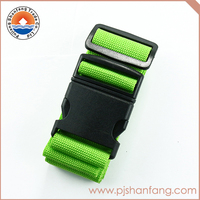 Latest arrival custom fabric luggage belt/luggage strap on sale