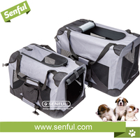 Classic Dog stainless steel cage pet soft crate