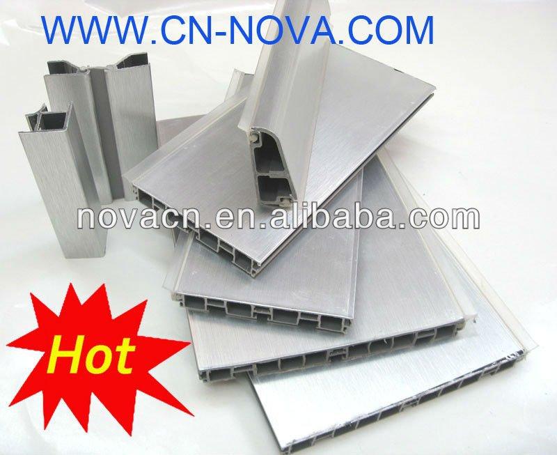Pvc bordeando board cocina z calo aluminio cocina rodapi for Zocalos de aluminio para muebles de cocina