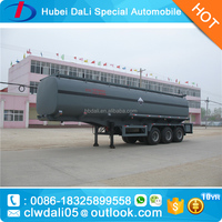 New Design New Style 30CBM Chemical Liquid Trailer truck caustic soda semi trailer NaOH for sale