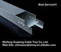 Large span stainless steel straight cable tray china supplier